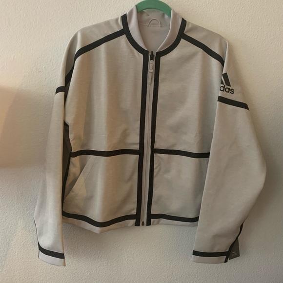 adidas Jackets & Blazers - Adidas   Reversible Athletic Zip Up Jacket   L